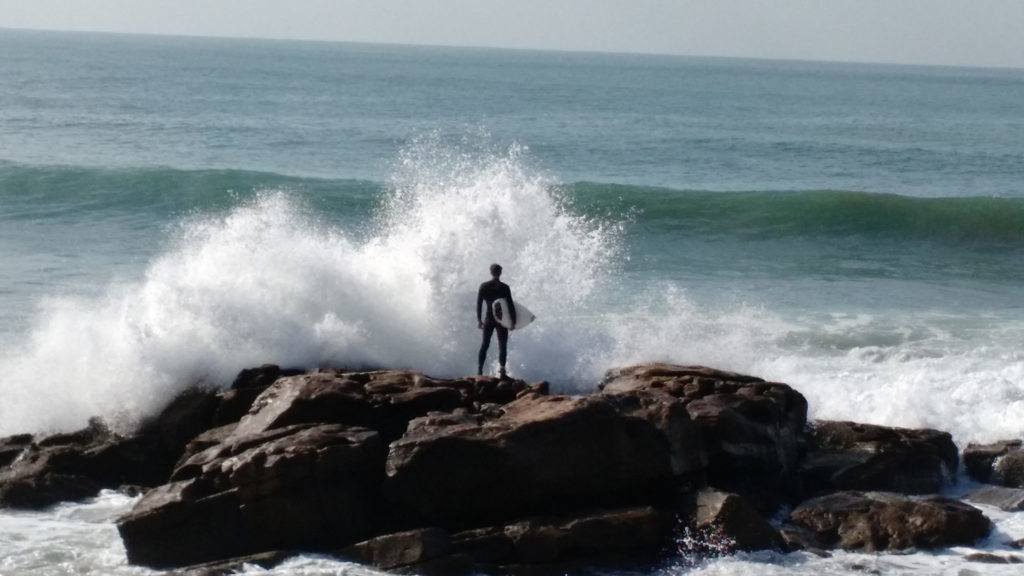 Surfing in Sidi Ifni