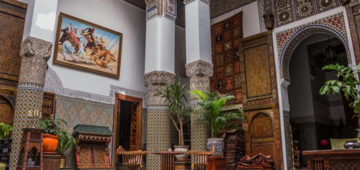 moroccan architecture morocco
